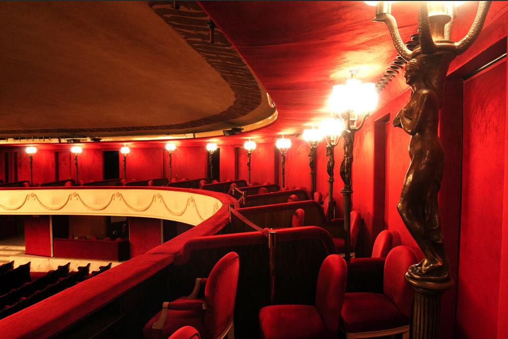 Teatro Manzoni - Milano - la galleria