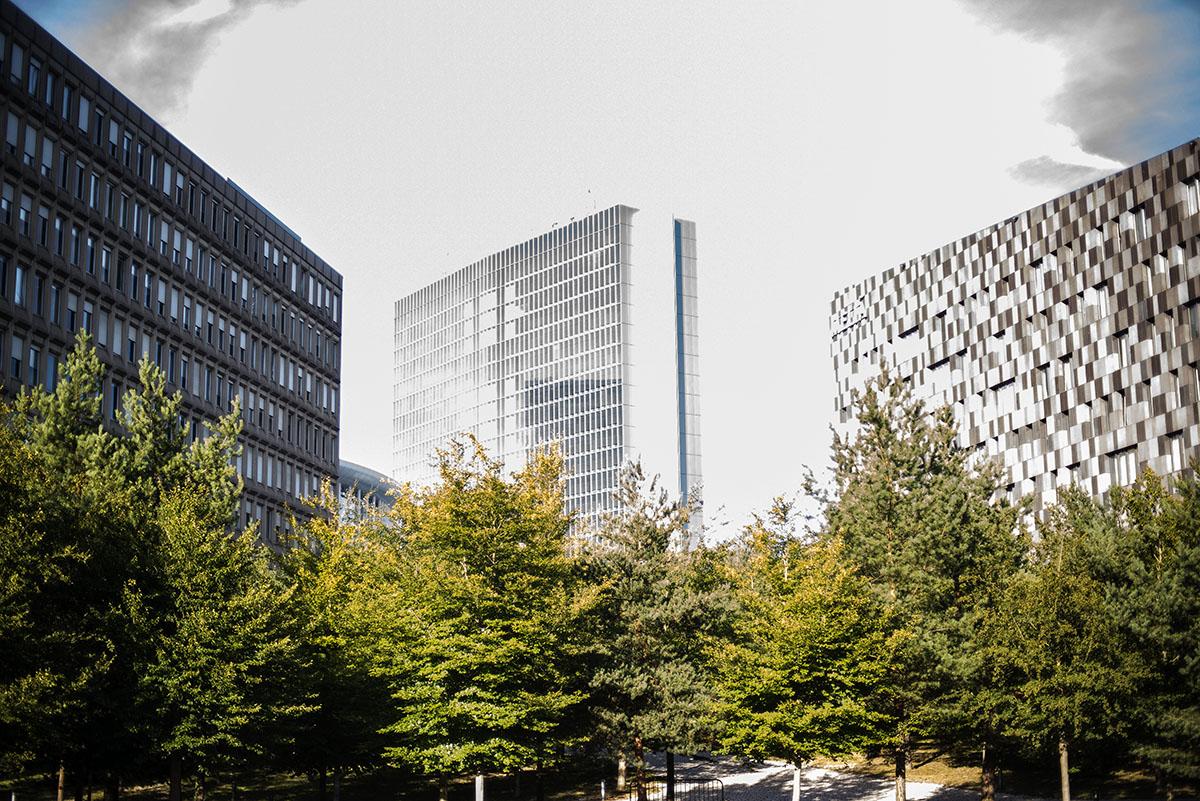 Luxembourg city - Kirchberg