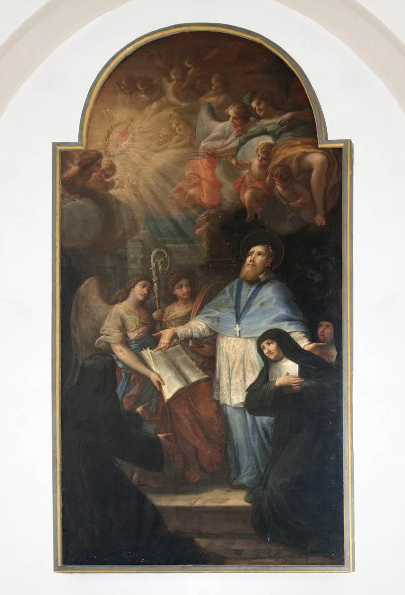 San Francesco di Sales consegna la Regola a S. Giovanna di Chantal