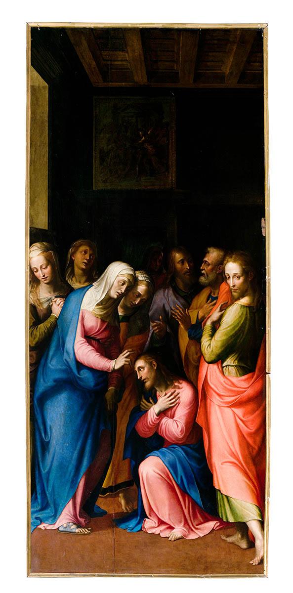 Congedo di Cristo dalla Madre